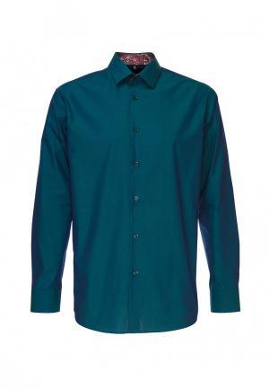 Рубашка Greg. Цвет: зеленый