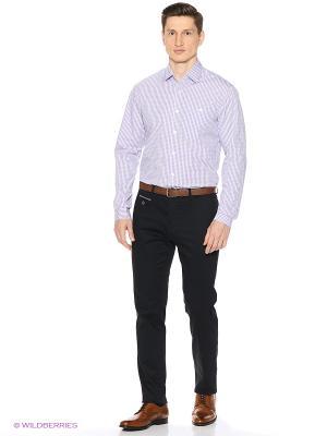 Рубашка Reserved. Цвет: серо-голубой, сиреневый