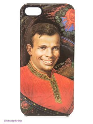 Чехол для iPhone 5/5s Gagarin Kawaii Factory. Цвет: красный