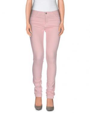 Повседневные брюки MAISON KITSUNÉ. Цвет: розовый