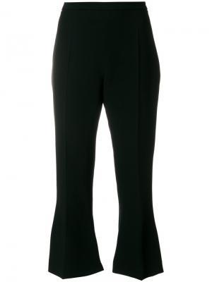 Укороченные брюки клеш Antonio Berardi. Цвет: чёрный