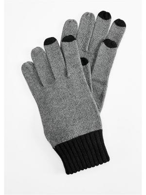 Перчатки S.OLIVER. Цвет: антрацитовый, серый