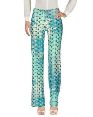Повседневные брюки FRANCESCA FERRANTE. Цвет: синий