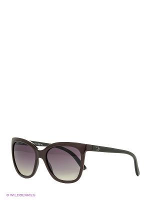 Солнцезащитные очки Franco Sordelli. Цвет: темно-бордовый