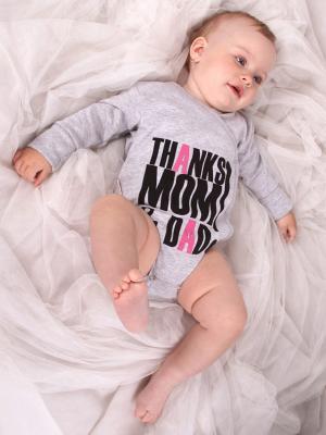 Боди, 2 шт Lucky Child. Цвет: серый, розовый, черный