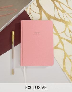 OHH DEER Розовый ежедневник. Цвет: мульти