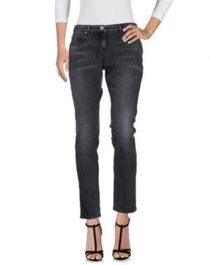 Джинсовые брюки ELEVENTY. Цвет: черный