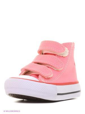 Кеды 4U. Цвет: малиновый, розовый