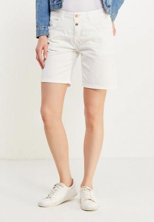 Шорты джинсовые Motivi. Цвет: белый