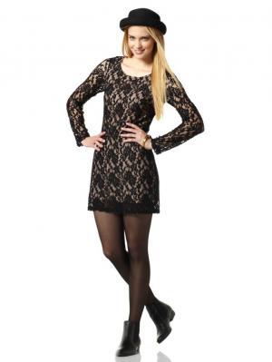 Платье AJC. Цвет: черный
