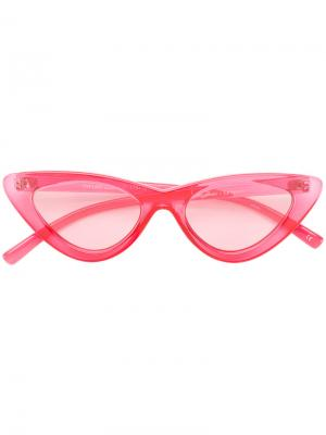 Солнцезащитные очки  Last Lolita Le Specs. Цвет: розовый и фиолетовый