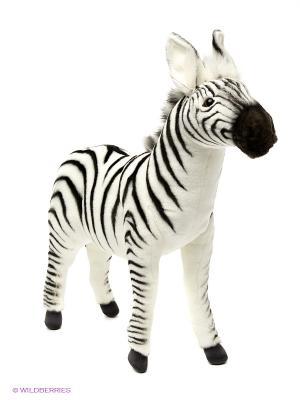 Зебра 41 см Hansa. Цвет: белый, черный