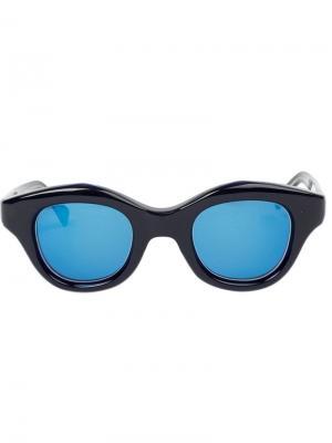 Солнцезащитные очки Hook Hakusan. Цвет: синий