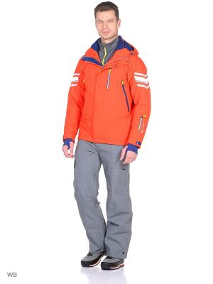 Куртка Stayer. Цвет: красный, белый