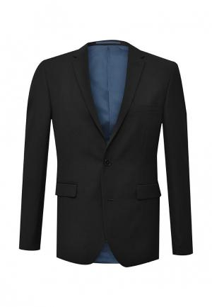 Пиджак Burton Menswear London. Цвет: черный