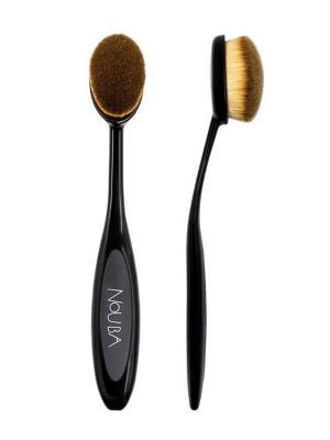 Кисть для макияжа овальная Oval Brush NOUBA. Цвет: черный