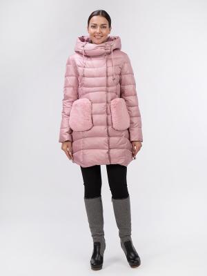 Пальто OSTRICH. Цвет: розовый