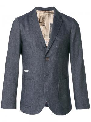 Классический пиджак Al Duca D'Aosta 1902. Цвет: синий