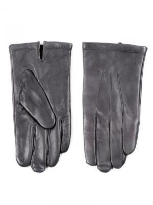 Перчатки Piero. Цвет: серый
