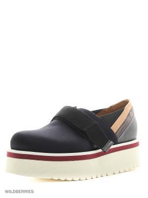 Ботинки DonDup. Цвет: синий