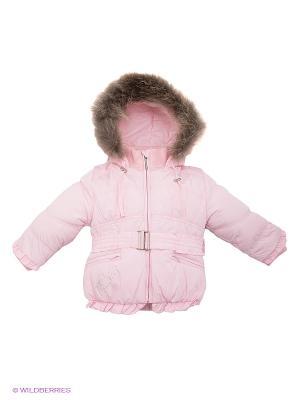 Куртка Hippo Hoppo. Цвет: бледно-розовый