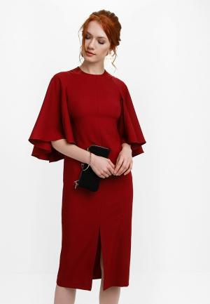 Платье Audrey Right. Цвет: бордовый