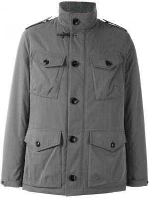 Куртка legend field Fay. Цвет: серый
