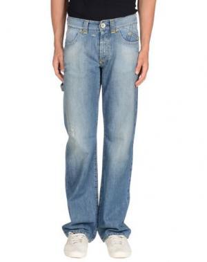 Джинсовые брюки PAUSE. Цвет: синий