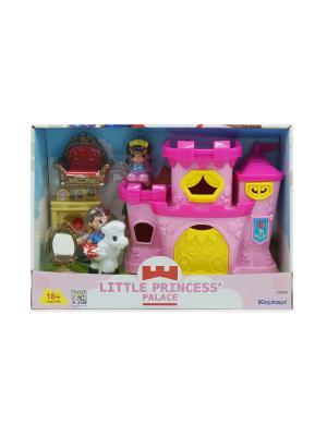 Игровой набор Дворец маленькой принцессы Keenway. Цвет: розовый