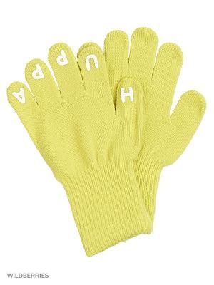 Перчатки LEVI HUPPA. Цвет: зеленый