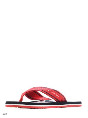 Пантолеты Tommy Hilfiger. Цвет: красный