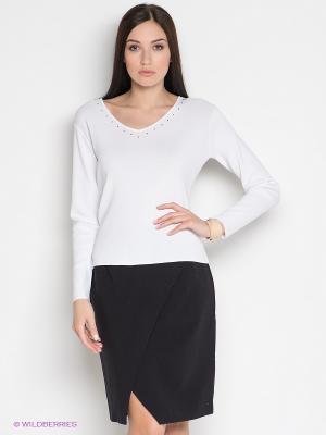 Пуловер IMAGINI. Цвет: белый