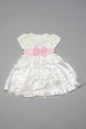 Платье Diamond Lady. Цвет: бежевый