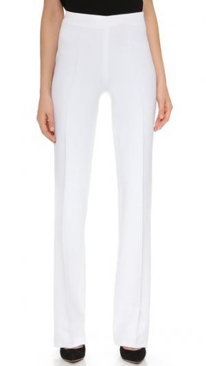 Широкие брюки Antonio Berardi. Цвет: белый