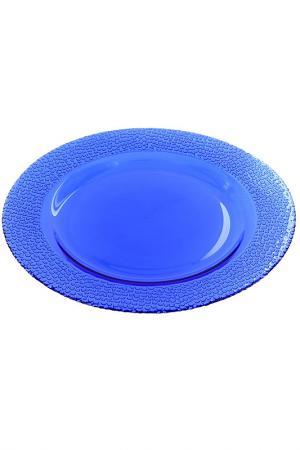 Тарелка, 6 шт Pasabahce. Цвет: синий