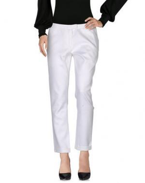 Повседневные брюки RICHARD NICOLL. Цвет: белый