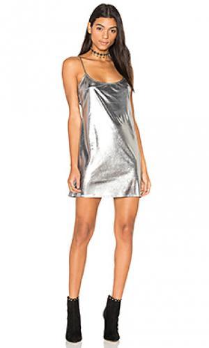 Платье di Clayton. Цвет: металлический серебряный