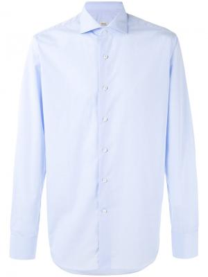 Button-up shirt Alessandro Gherardi. Цвет: синий