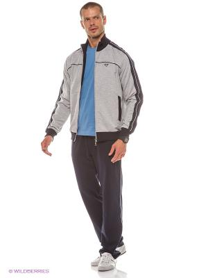 Спортивный костюм RED-N-ROCK'S. Цвет: серый, темно-синий