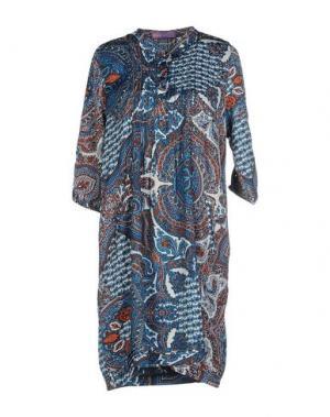 Короткое платье HOPE 1967. Цвет: пастельно-синий