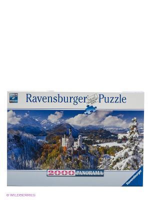 Панорамный пазл Нойшванштайн Ravensburger. Цвет: голубой