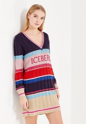 Платье Iceberg. Цвет: разноцветный