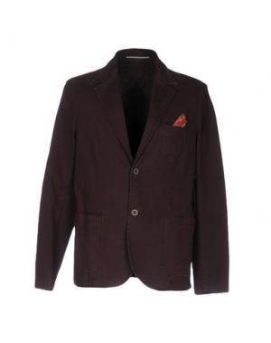 Пиджак ZERO. Цвет: баклажанный