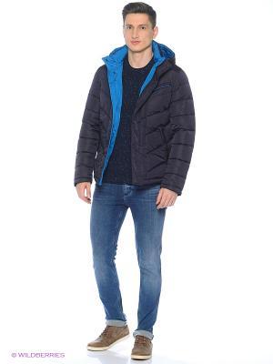 Куртка Snow Guard. Цвет: темно-синий