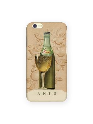 Чехол для IPhone 6 Лето Mitya Veselkov. Цвет: кремовый, зеленый, красный