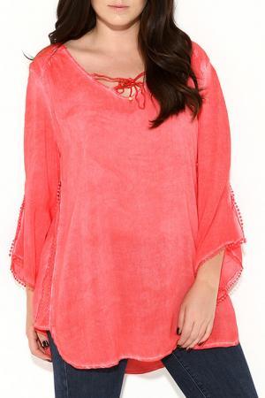 Блуза Zer otantik. Цвет: красный