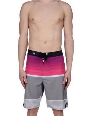 Пляжные брюки и шорты RIPCURL. Цвет: фуксия