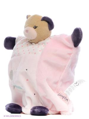Мишка комфортер - Крастока, коллекция Розочка Kaloo. Цвет: розовый