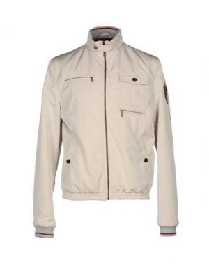 Куртка MESSORI. Цвет: светло-серый
