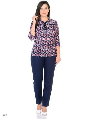 Блузка, модель Нила Dorothy's Нome. Цвет: черный, розовый, синий